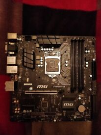 MSI Mainboard Z170M Mortar