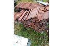 Reclaimed Terracota Roof Tiles for Sale
