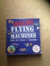 INSANE FLYING MACHINES. BUILD & FLY YOUR OWN FLYING MACHINES.