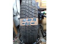 155-80-13 Event Mj683 79T 5mm Part Worn Tyre