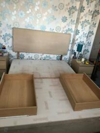 King size Silentnight bed