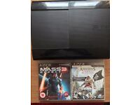 12GB PS3 for sale with Assassin's Creed and Mass Effect 3 included