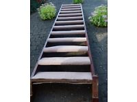 Used flight of stairs