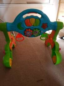 Baby gym and walker