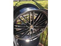 "22"" Judd alloy wheels"