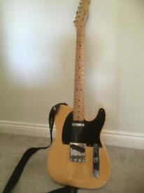Fender Baja telecaster classic player butterscotch and black