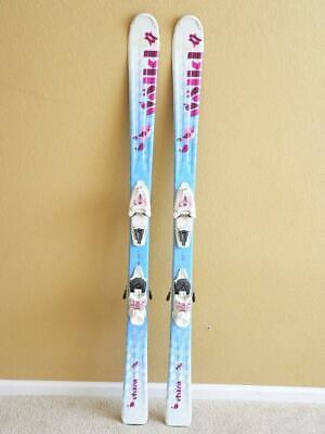 140cm Volkl Chica All Mountain Jr Girl Skis w/ MARKER 7.0 Quick Adjust Bindings Volkl Girls Ski