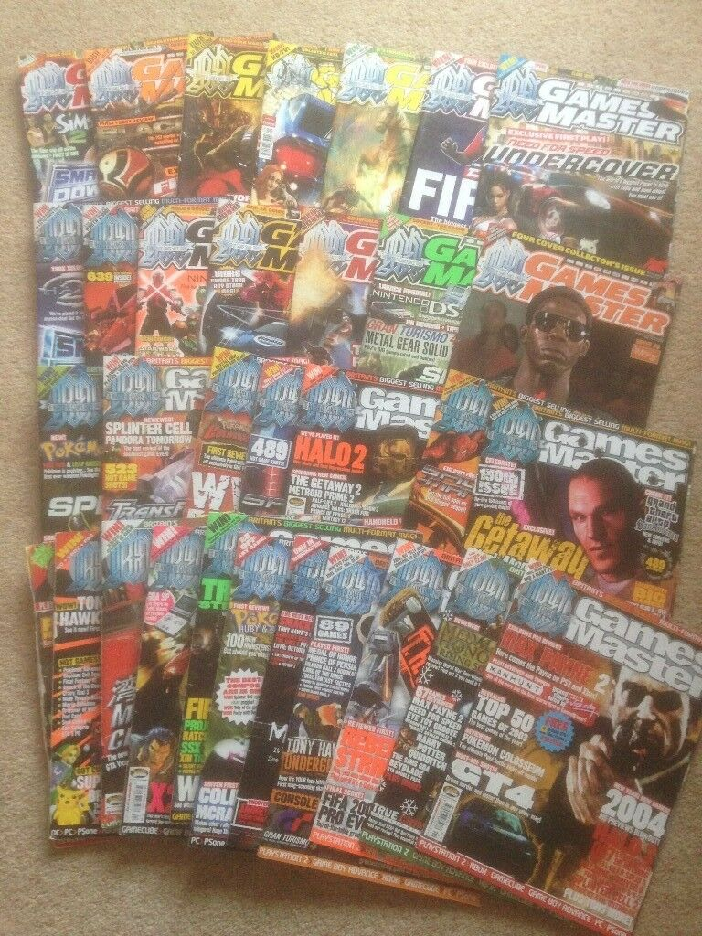 Games Master magazines  Vintage/Retro  Various copies ranging from 2002 to  2008, | in Weston-super-Mare, Somerset | Gumtree