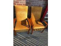 Mid century Parker knoll armchairs