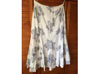 Ladies Per Una linen skirt