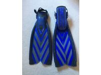 Scuba pro Twinspeed fins and snorkelling equipment