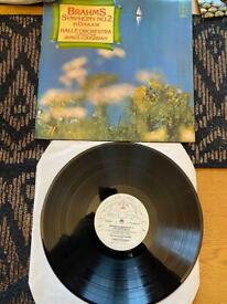 Brahms Symphony vinyl