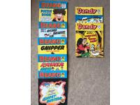 Beans and Dandy Comic library Mia true books
