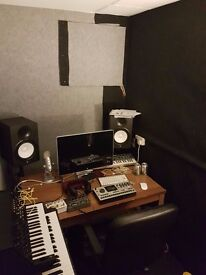 Rehearsal / music production studio for rent BS2