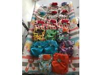 TotsBots Teenyfits Newborn reusable cloth nappies