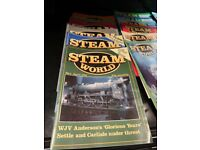 Steam World magazines -issues1-5 and 34-243 (missing issue 174). Full of great articles and photos