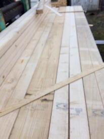 "Brand new timber spars 3"" x 2"" x 9 ft"