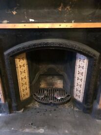 Antique firplace surround