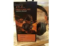 2x AFX FIRESTORM H01 GAMING HEADSET