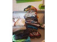 Bundle of boys clothes 6-7, 7-8, 8-9