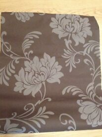 Brown wallpaper £19.99 a roll,selling all 3 for £10