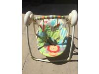 Bright Sparks Up & Away Portable Swing