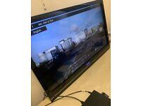 TOSHIBA 42 INCH FULL HD LCD TV 50 WATTS RMS SOUND FREE VIEW 4 X HDMI WALL MOUNT KIT