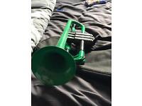 Trumpet plastic new green