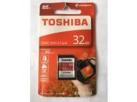 Toshiba SDHC UHS-I card