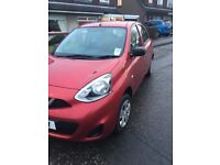 NISSAN MICRA 1.2 2014 VERY! LOW MILES