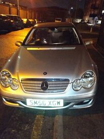 2006 MERCEDES-BENZ C CLASS C200 SE Automatic 5 Speed 3 Door Coupe