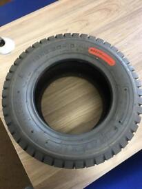 2 x Mower Tyres 18 x 8.50 - 10 BRAND NEW