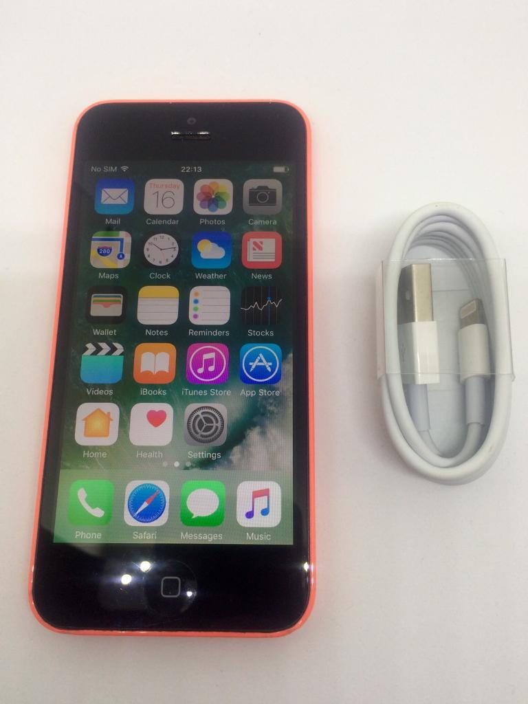 iPhone 5c Pinkin Coventry, West MidlandsGumtree - iPhone 5c 8gb Pinkon ee network £8.99 to unlock via ee network In good condition with few marks on cornersNo cracks or damage to screenNo iCloud or Apple ID so ready for new userComes withx1 USB CABLE x1 iPhone 5c x1 new silicon gel caseMay deliver...