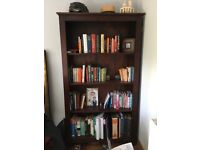 Solid Wood free standing shelves