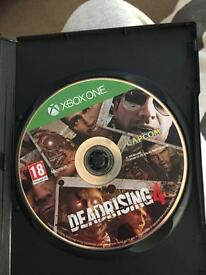 Dead rising 4 Xbox one game