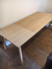 FREE EXTENDABLE DINING TABLE