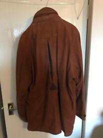 Camanchi leather coat