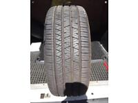 235 55 17 continental Michelin acceira 8mm tread FREE MOBILE FITTING