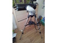 telescope skywatcher motorised as new