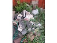 Large Rocks perfect for rockery