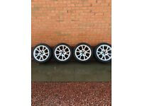 18 inch Audi sport alloys and tyres