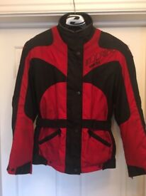 Dainese Gortex Jacket, with armour and removable lining