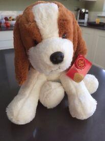 Brand new Keel stuffed spaniel toy
