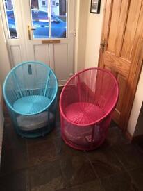 Garden Bistro Egg Chair x 2