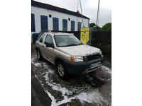 Freelander long mot