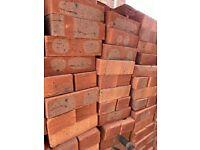 Bricks new,standard size, 0.40 p each