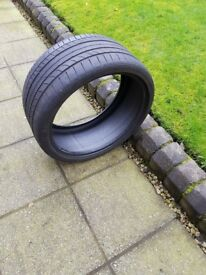 Part Worn Car Tyre – Continental Conti SportContact 5P – 255/30 ZR19 XL