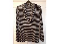 Maternity / nursing top. Excellent condition. Black and white.