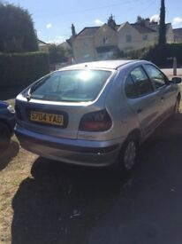 Renault Megan's good run about got this car because my 7 seater was off the road because problems