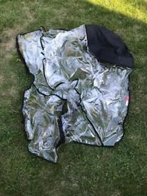 Phil and Teds stroller rain cover